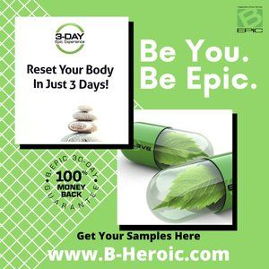 Try Our Samples and Reset Your Body in 3 Days